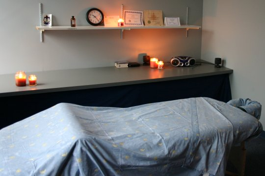 One of our massage rooms
